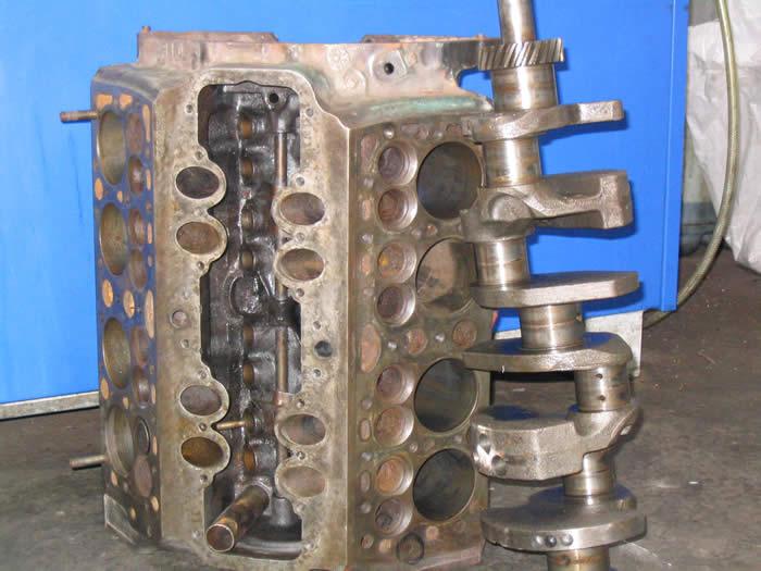 Side Valve Ford V8 Engines