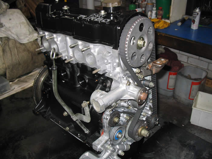 Mitsubishi Cordia Engine Assembly